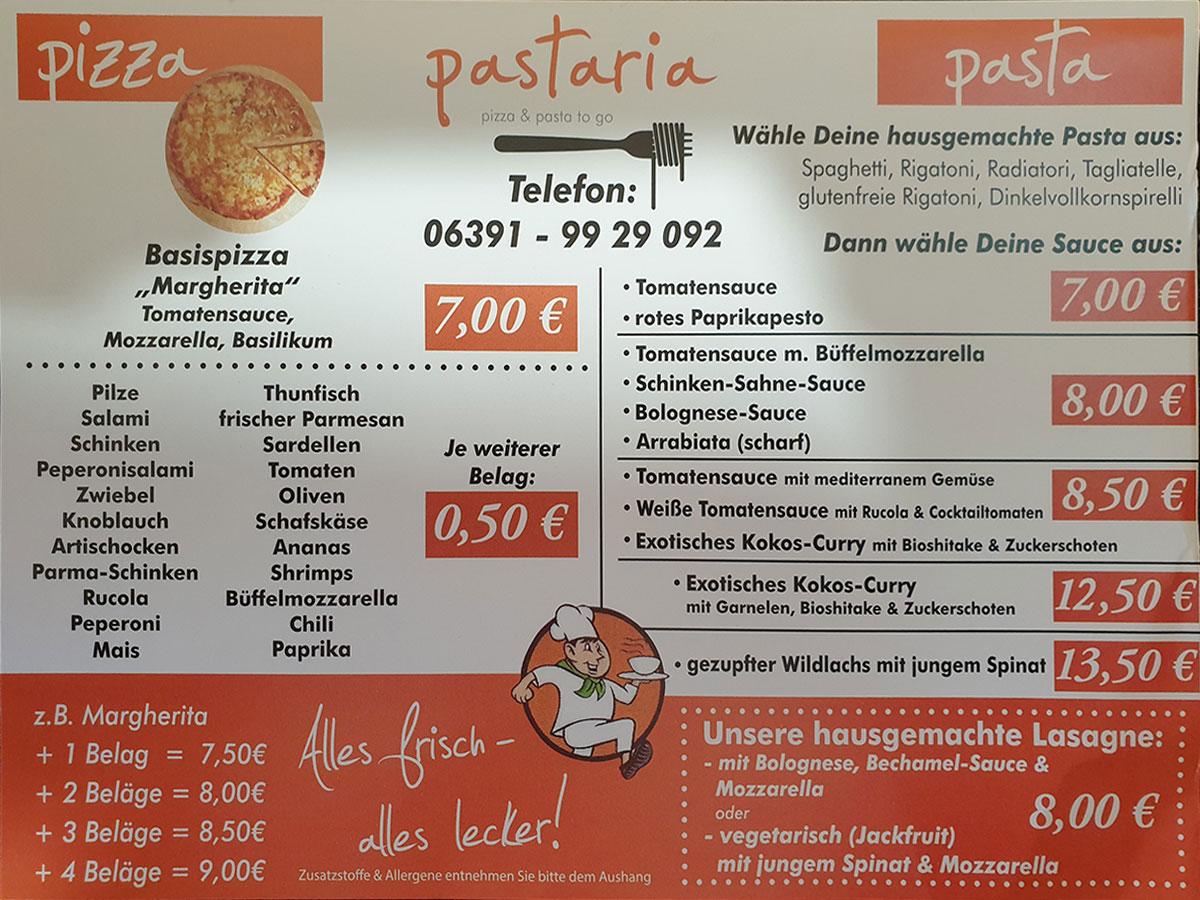 Pastaria-Dahn-Speisekarte-vorne